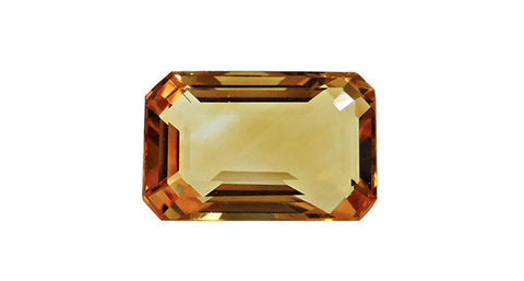 Citrine, Octagon Cut 4.19ct - Far East Gems & Jewellery