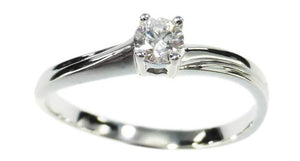 Solitaire Diamond Ring - Far East Gems & Jewellery