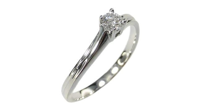 0.12ct Solitaire Diamond Ring - Far East Gems & Jewellery