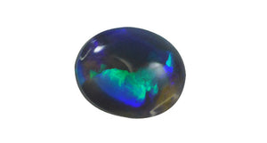 1.74ct Lightning Ridge Grey Blue Opal, Oval - Far East Gems & Jewellery