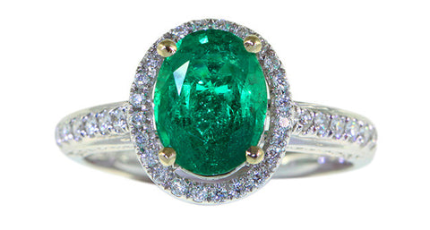 1.19ct Emerald Ring - Far East Gems & Jewellery