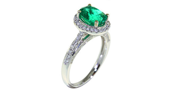 Emerald Ring 1.19ct - Far East Gems & Jewellery