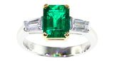 1.36ct Emerald Ring - Far East Gems & Jewellery