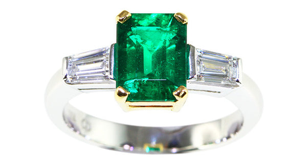1.36ct Emerald Ring