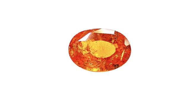 4.08ct Spessartite Garnet, Oval - Far East Gems & Jewellery