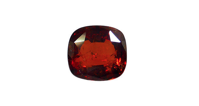 Hessonite Garnet, Cushion Cut 10.45ct - Far East Gems & Jewellery
