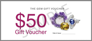 The Gem Gift Voucher -  $50