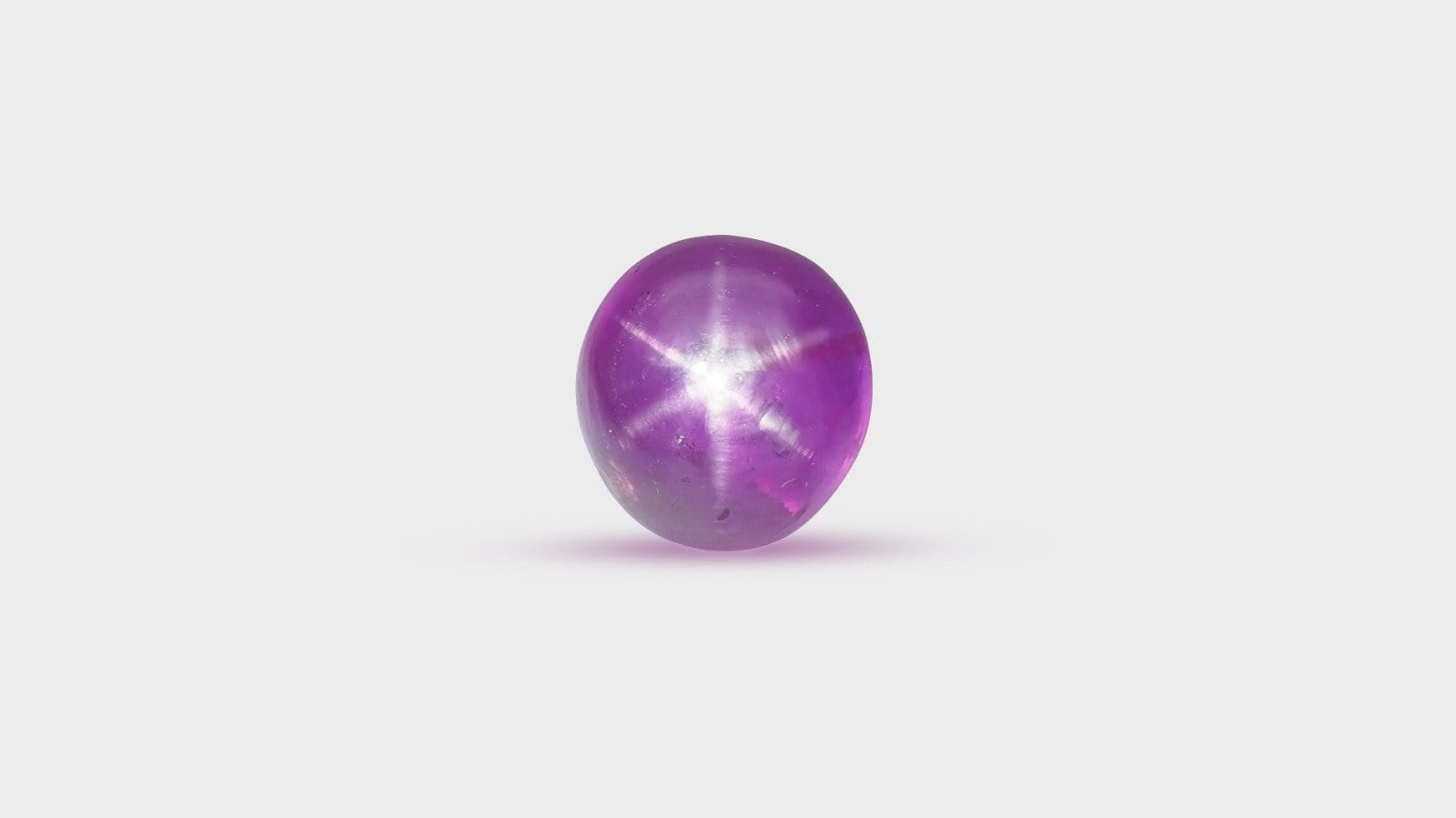 Star Ruby, Ceylon, Round 14.47ct - Far East Gems & Jewellery