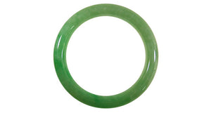Natural A Jade Bangle - Far East Gems & Jewellery