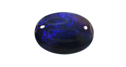 Black Opal, Oval 11.68ct Lightning Ridge - Far East Gems & Jewellery