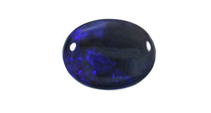 Black Opal, Oval 5.02ct Lightning Ridge - Far East Gems & Jewellery