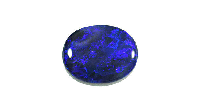 2.97ct Lightning Ridge Black Opal, Oval