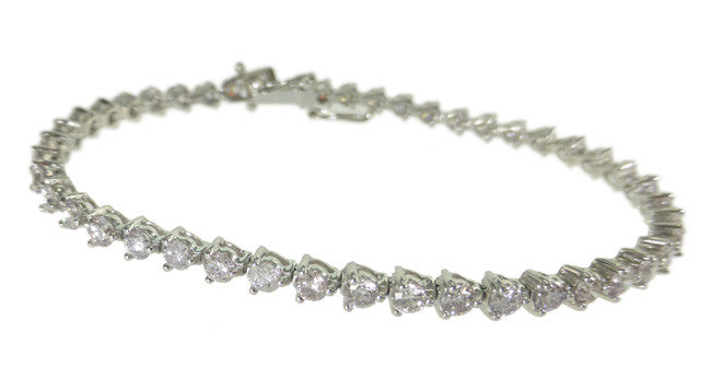 3.56ct Light Pink Diamond Bracelet - Far East Gems & Jewellery