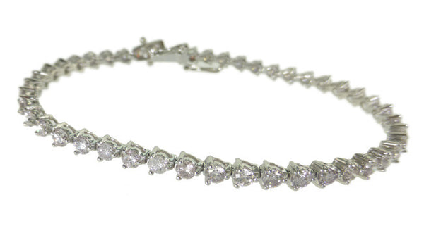 3.56ct Light Pink Diamond Bracelet