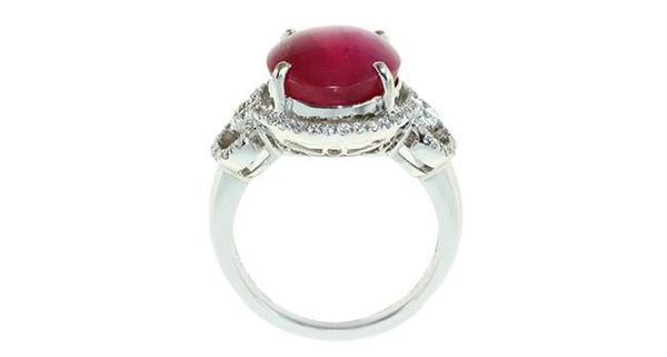 Star Ruby Ring 7.48ct - Far East Gems & Jewellery
