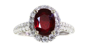 2.19ct Ruby Ring