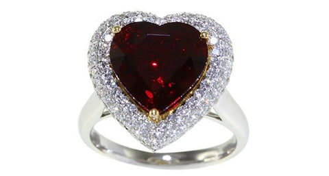 4.11ct Ruby Ring - Far East Gems & Jewellery