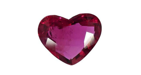 Ruby, Heart, Thailand 2.25ct - Far East Gems & Jewellery