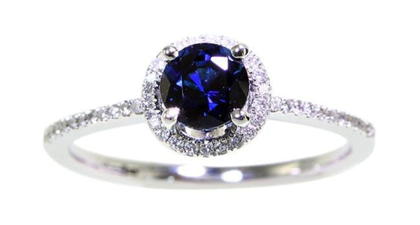0.82ct Sapphire Ring - Far East Gems & Jewellery