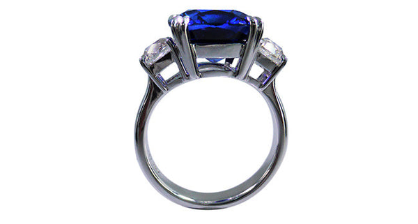 8.01ct Natural Sapphire Ring - Far East Gems & Jewellery