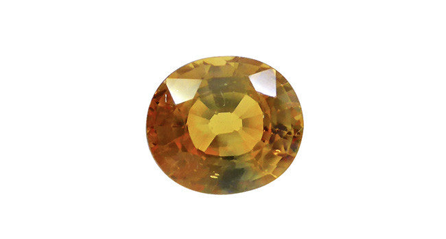 1.50ct Yellow Sapphire, Oval - Far East Gems & Jewellery