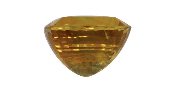 Yellow Sapphire, Cushion Cut 6.23ct - Far East Gems & Jewellery