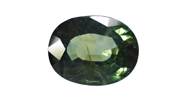 Green Sapphire, Oval 3.40ct - Far East Gems & Jewellery