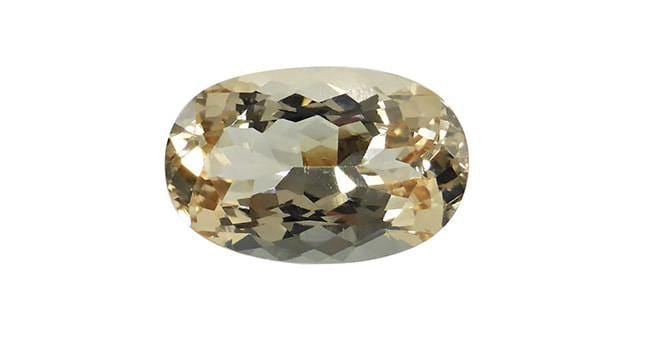 8.97ct Precious Topaz, Afghan, Oval - Far East Gems & Jewellery