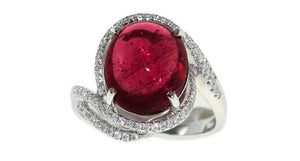 Pink Tourmaline Ring 5.52ct - Far East Gems & Jewellery