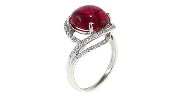 5.52ct Pink Tourmaline Ring - Far East Gems & Jewellery