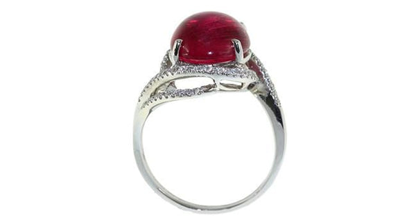 5.52ct Pink Tourmaline Ring