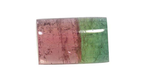 Water Melon Tourmaline, Rectangle 6.77ct - Far East Gems & Jewellery