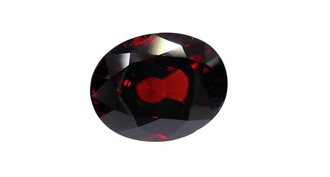 Red Zircon, Oval 18.81ct - Far East Gems & Jewellery