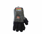 Merino glove 3 way in black colour