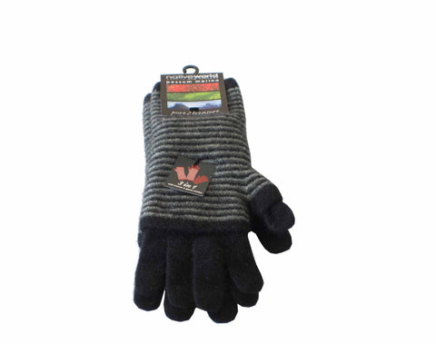 Merino 3 way glove Black OSFM NX654