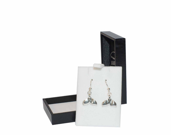 CJ-Sterling Silver sml tail earrings