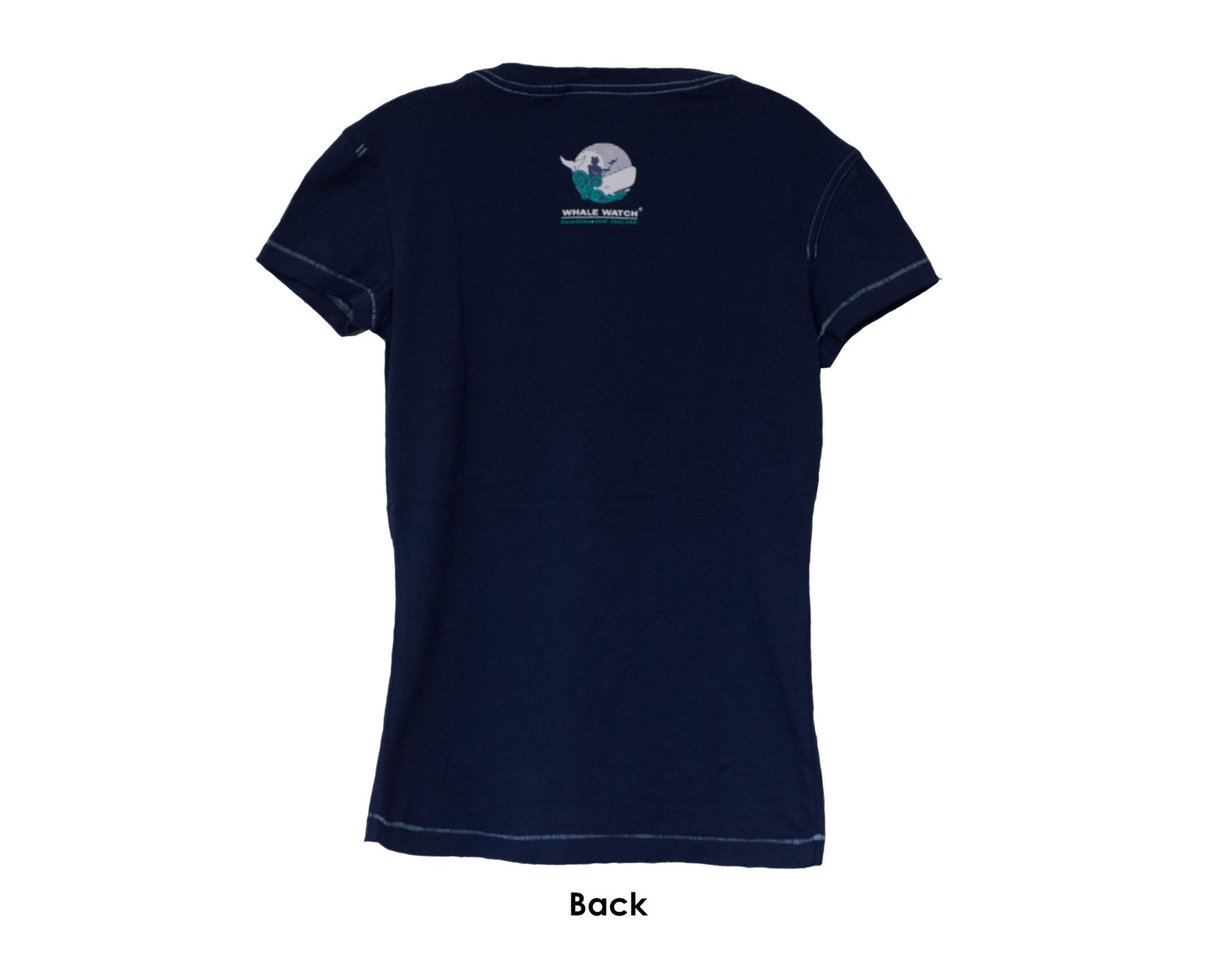 Whale Watch Kaikoura Vintage Womens T-shirt