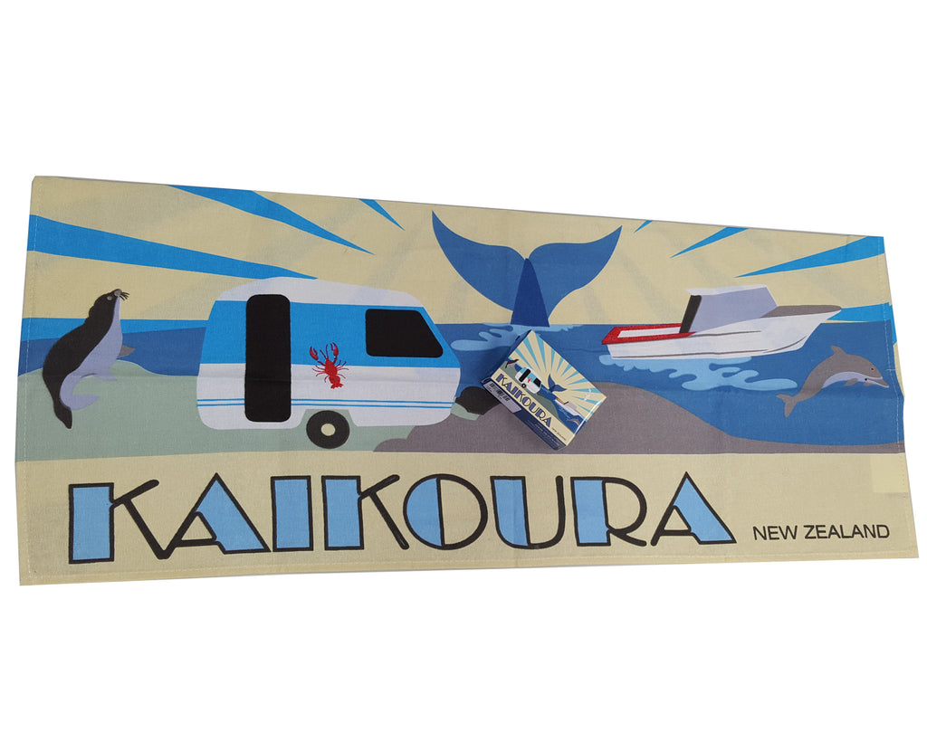 Kaikoura tea towel