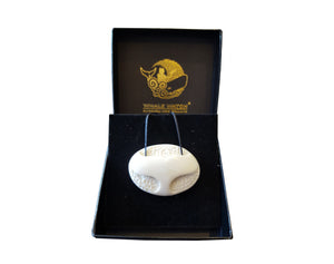 NZ handmade jewellery - whale tail necklace pendant