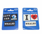 NZ souvenirs - whale magnets