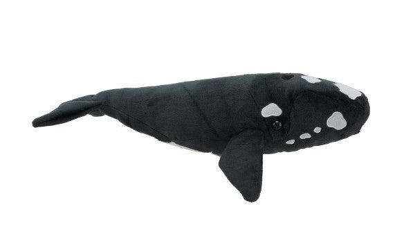Southern Right Whale soft toy with sound 30cm