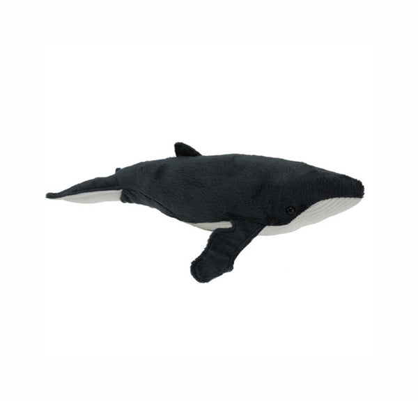 Humpback Whale soft toy with sound XL