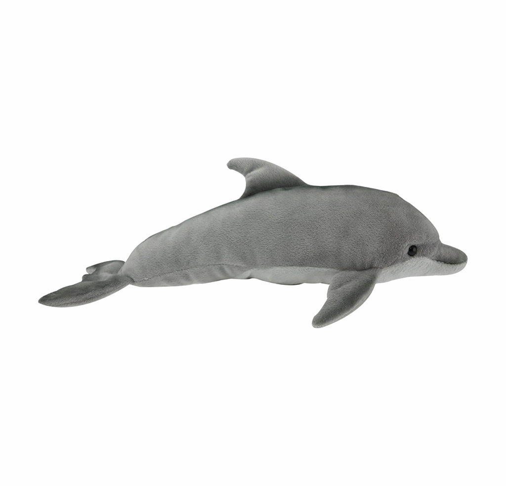 Bottlenose dolphin soft toy with sound
