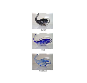 Glass Whales- handmade, NZ made souvenir