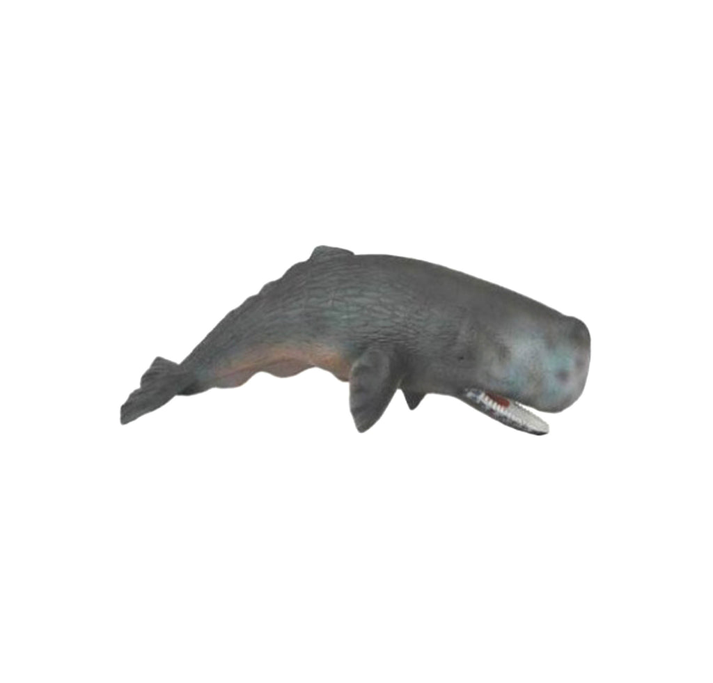 Sperm whale toy figurine