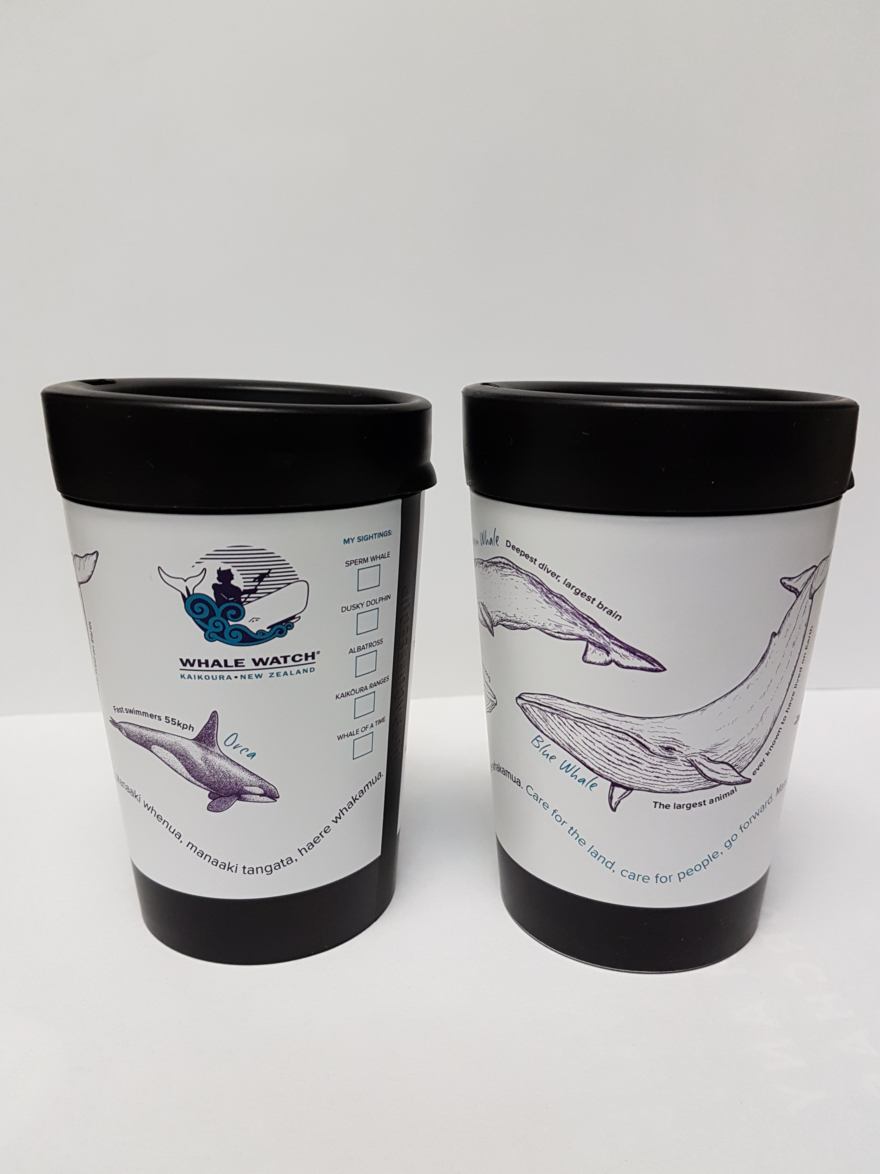 Whale Reusable Coffee Cup
