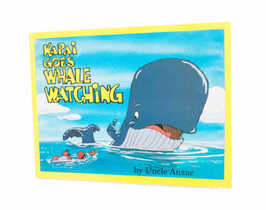 Kapai Goes Whale Watching children book