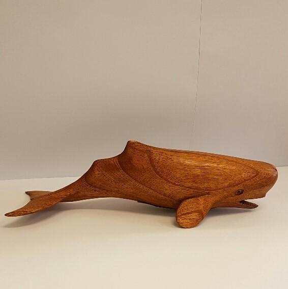 Wooden Sperm Whale