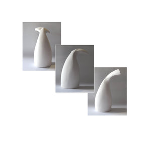 Handmade clay figurine – whale tail