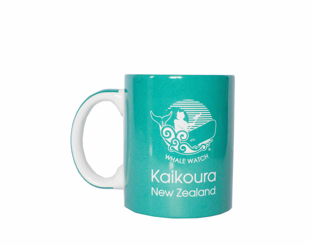 Whale Watch Kaikoura branded cup